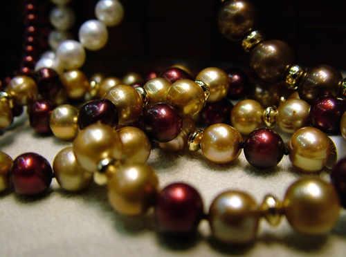 What makes pearls precious
