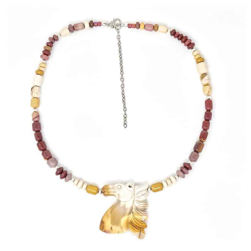 Fabel Mookaite Statement Necklace