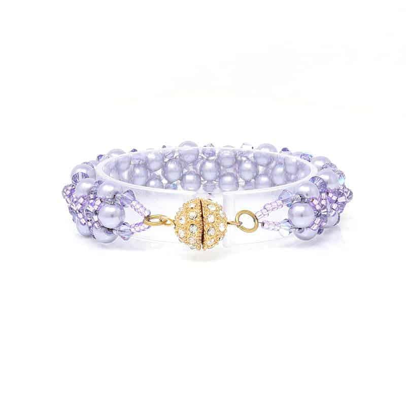 Wildflower Pearl Bracelet