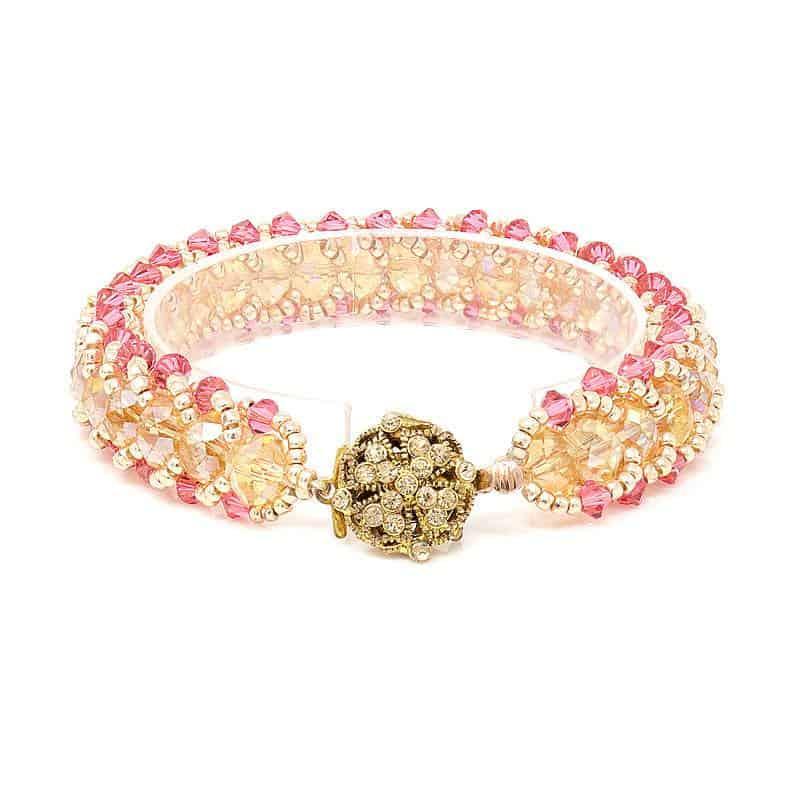 California Sunset Crystal Bracelet