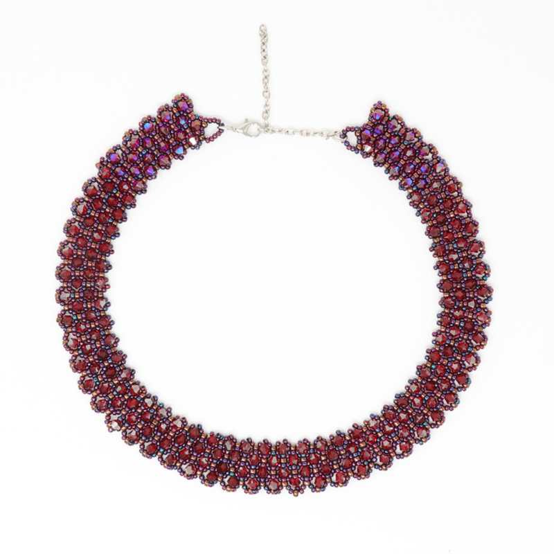 Swarovski Siami Crimson Necklace