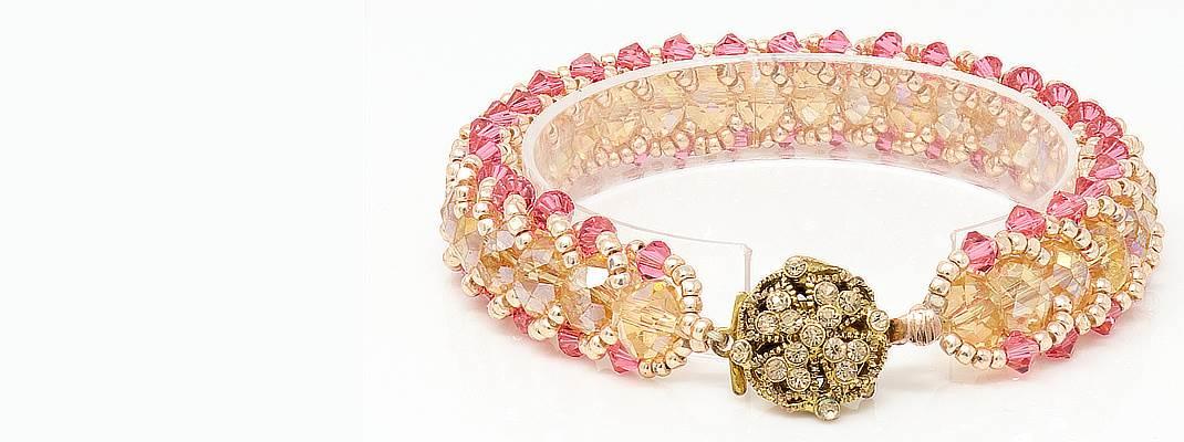 HerMJ - California Sunset Crystal Bracelet