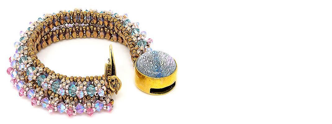 HerMJ - Double Strand Crystal Bracelet