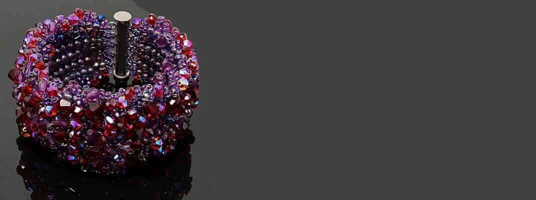 HerMJ - Red Splash Bracelet